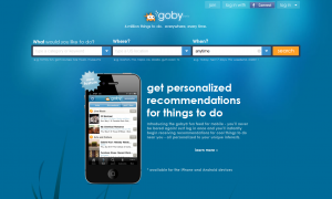 goby Location based marketing social media