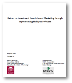 ROI 2011 FrontPage resized 252 How to save 62 percent of your budget with inbound marketing