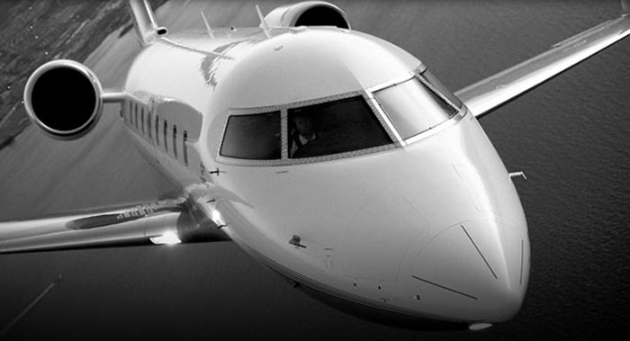 Private air charter business