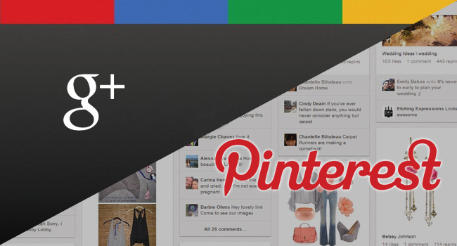 google plus vs pinterest1 Who get you more business leads Google+ or Pinterest?